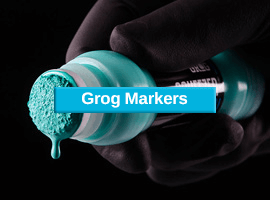 Grog markers