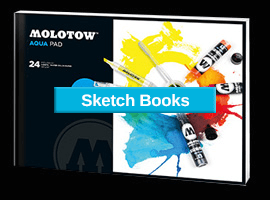 Molotow sketchbooks