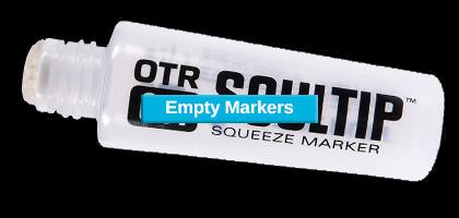 Squeeze Paint Marker 6mmMohair Graffiti Mop On The Run OTR.007 SOULTIP