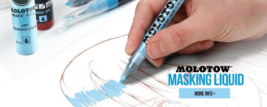 Marker-Molotow-Masking