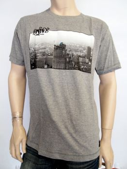 1UP T-shirt (Bangkok) Grey