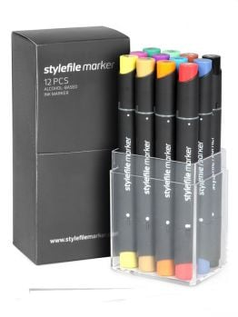 Stylefile Classic 12 Markers Set (Main A)