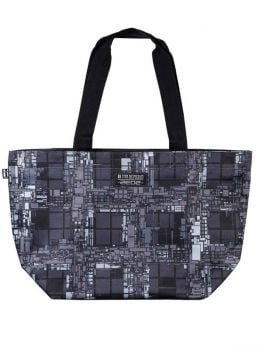 Mr.Serious Shopper Bag (Zedz) Black/Grey