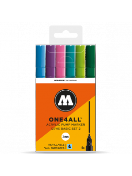 Molotow 127HS (6 Markers Kit) - Basic 2