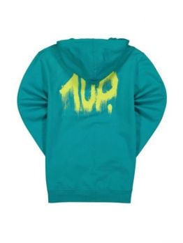 """1up Hoodie """"FIRE EXTINGUISHER"""" - Mint"""
