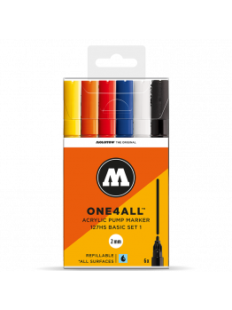 Molotow 127HS (6 Markers Kit) - Basic 1