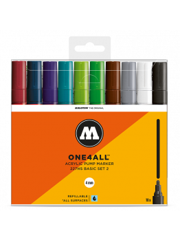 Molotow 227HS (10 Markers Kit) - Basic set 2