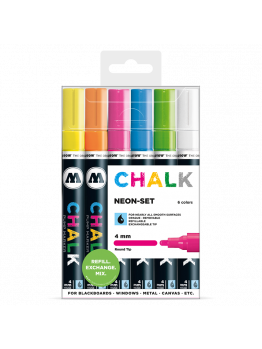 Molotow Chalk Markers 4mm (Neon set)