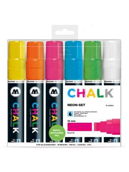 Molotow Chalk Markers 15mm (Neon set)