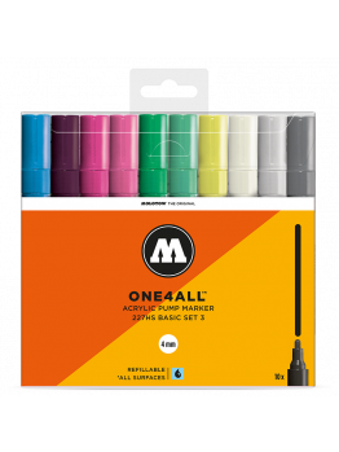 Molotow 227hs (10 marker kit) Basic Set 3