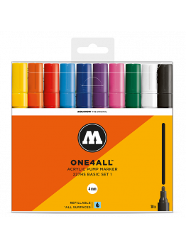 Molotow 227HS (10 Markers Kit) - Basic set 1