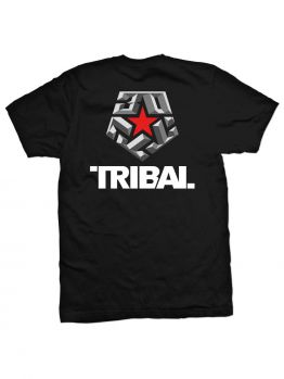 Tribal T-Shirt (30 Bevel) - Black