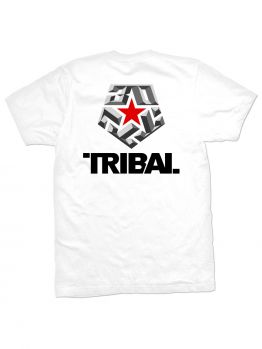 Tribal T-Shirt (30 Bevel) - White