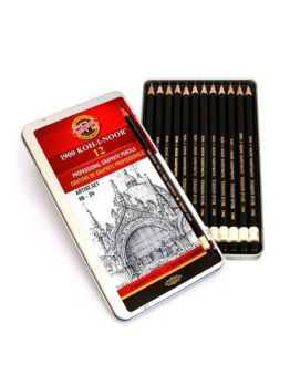 Koh-I-Noor Toison D'or Professional Graphite Artist Set - 12 Pencils