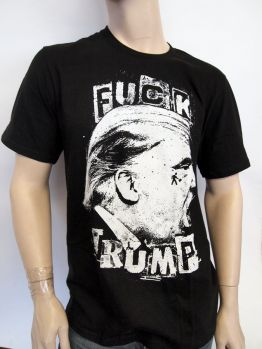 Indecline T-shirt (Fuck Trump) Black