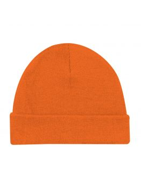 Blanks - Lightweight Cuff Beanie (Fluo Orange)
