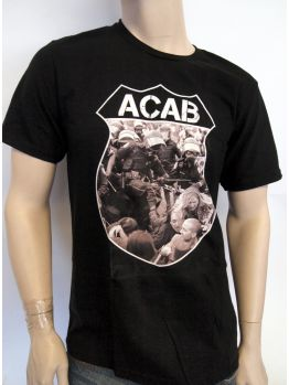 Indecline T-shirt ( A.C.A.B.) Black