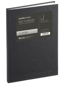 Stylefile Classic Marker Sketchbook (Din A5) Vertical