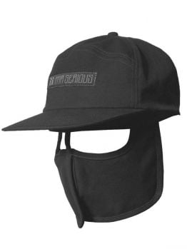 Mr.Serious 6 panel hat (Unknown) - Black
