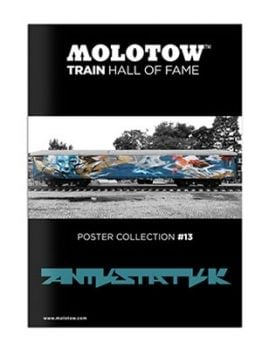 Molotow Train Hall Of Fame Collection Antistatik #13