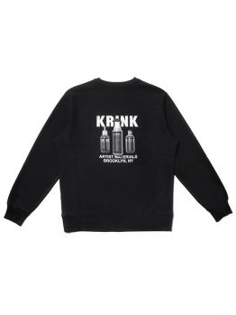 Krink Sweatshirt (Artist Materials) - Black