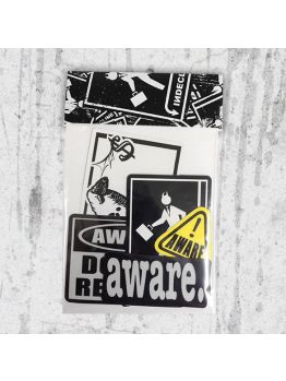 Indecline Sticker pack - Aware (Limited Edition)