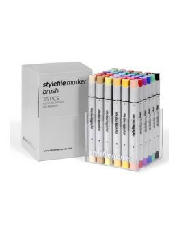 Stylefile 36 Brush Marker Set (Main A)