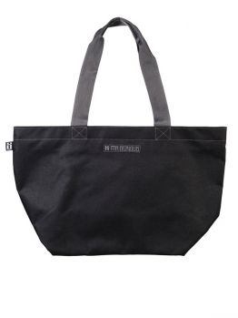 Mr.Serious Shopper Bag - Black