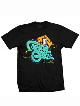 Tribal T-Shirt (Baker) - Black