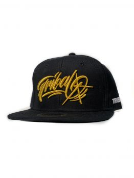 Tribal Snapback (Baker Gold) - Dark Grey/Gold