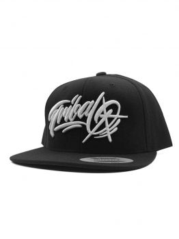 Tribal Snapback (Baker) - Black