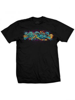 Tribal T-Shirt (Basix Bevel) - Black