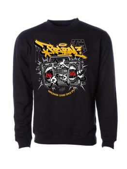 Tribal crewneck (Battlebox) - Black