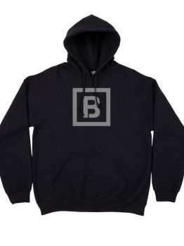 Bombing Science hoodie (Squared Logo)  - Black
