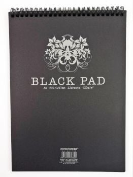Potentate Black Pad (A4) - 210mm X 297mm