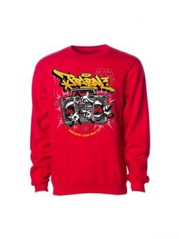 Tribal crewneck (Battlebox) - Red