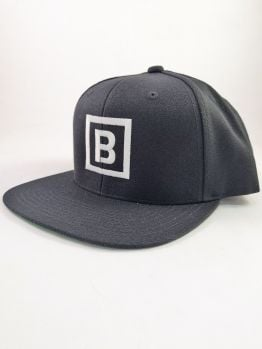 Bombing Science Snapback (Squared) - Black