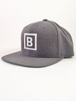 Bombing Science Snapback (Squared) - Dark Heather