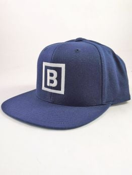 Bombing Science Snapback (Squared) - Navy