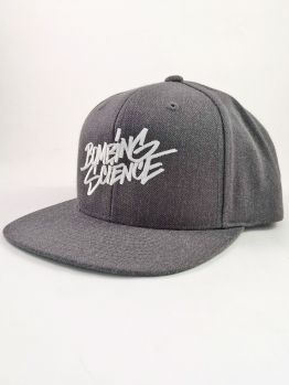 Bombing Science Snapback (Shok handstyle) - Dark Heather