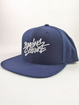 Bombing Science Snapback (Shok handstyle) - Navy