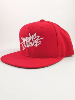Bombing Science Snapback (Shok handstyle) - Red