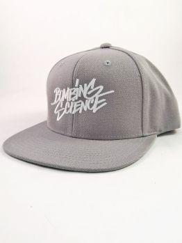 Bombing Science Snapback (Shok handstyle) - Silver