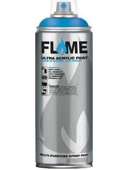 Flame Blue Spray Paint