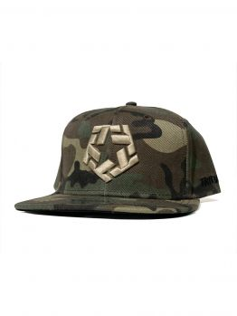 Tribal Snapback (Camo T-star)