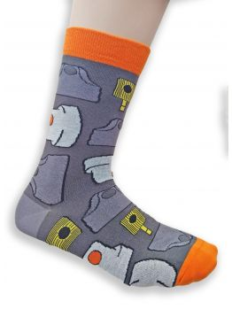 Bombing Science socks (The Caps) - Grey