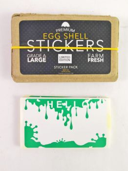 Egg Shell Stickers (VIRUS Blanks)