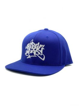 Tribal Snapback (Dyse) - Royal Blue