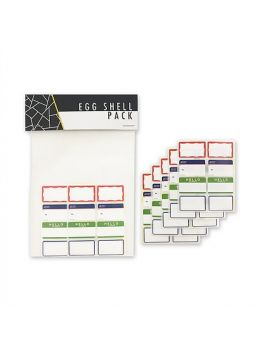 Egg Shell Stickers (Mini Blanks)