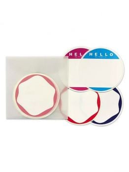 Egg Shell Sticker Pack - Circle Blanks